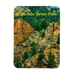 Colorado Seven Falls  Magnet!
