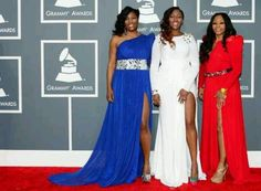 #SWV--Tamara Johnson-George, Cheryl #'Coko' Clemons and Leanne #'Lelee' Lyons--wore custom gowns created by Philadelphia bred fashion designer, #Ty'ron #Perrin of the #Marquette Collection.