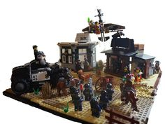 (MOC) The Lego Movie: Western Escape! | Flickr - Photo Sharing!