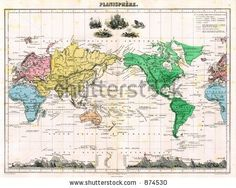 Antique World Maps Stock Photos, Images, & Pictures | Shutterstock