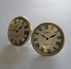 More clock earrings?... :) yes please!