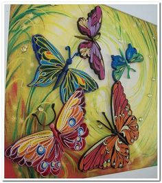 Quilled butterflies                                                                                                                                                     More