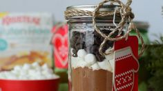 Looking for some great holiday gifts or fun projects to do with the kids? Here is an awesome hot chocolate recipe that is easy to do and fun for everyone!