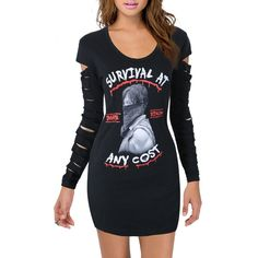 Item description officially licensed, brand new, the walking dead women's junior scoop neck cover up laser cut long sleeve t-shirt features an image of daryl dixon wearing a bandana over his face with Junior Shirts, Graphic Tees, Graphic Sweatshirt, Fandom Outfits, Daryl Dixon, The Walking Dead, T Shirts For Women, Survival, Sweatshirts