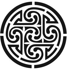 Image detail for -Today's free pattern is a beautiful celtic knotwork design… Celtic Symbols, Celtic Art, Celtic Spiral, Celtic Knots, Celtic Patterns, Celtic Designs, Wood Burning Patterns, Wood Patterns, Design Celta