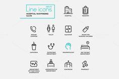 Hospital Infographics-28 Pictograms @creativework247