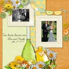 Created with Sunshine Citrus by Angel Wing Scraps. This beautiful kit contains many unique elements and beautiful patterned papers. It is perfect for many genres of scrapbooking pages with its bright pops of yellow and green. http://www.digidesignresort.com/...elwingscraps-p-25340