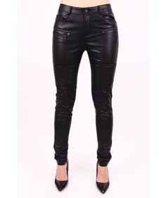 Kožené nohavice N1240 Leather Pants, Fashion, Leather Jogger Pants, Moda, Fashion Styles, Fasion, Leather Leggings