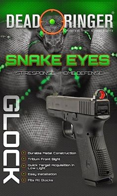 Lurking Rhythmically: Monday Gunday Product Reviews: the Snake Eyes Dead Ringer Sight - Ponies. Pistols. Prepping.