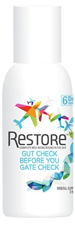 Restore dietary supplement for gut health improves gut intelligence, repairs tight junctions and immune function and natural healing.