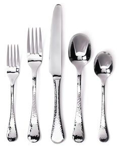 Amazon.com: Ginkgo International Lafayette 42-Piece Stainless Steel Flatware Set, Service for 8 Plus 2-Piece Hostess Set: Silverware: Kitchen & Dining