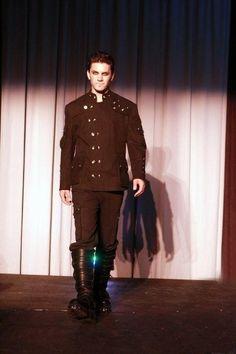 demigod biohazard apocaliptick angel goth mens jacket