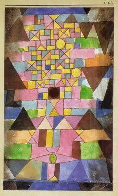 Paul Klee - Ecriture Architecturale