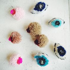 Dana haim pom Pom boobs and eyes #danahaimtextiles