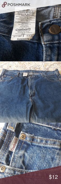 Jeans MENS (CARHARTT) Excellent condition, waist 40, length 34. Carhartt Jeans Relaxed