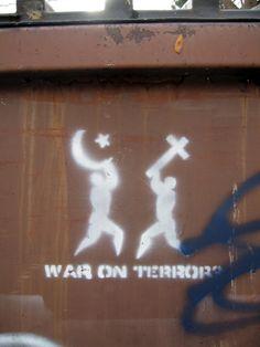 war on terror graffiti