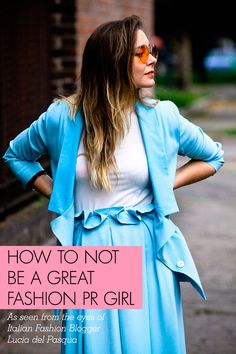 If you don't want to be made fun of if you are a public relations fashion blogger, this is worth taking a look at! #TechPR3315 #fashion #PR