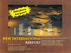 Dholera Airport - New International Airport. #Dholera #DholeraSIR #DholeraSmartCity #Gujarat