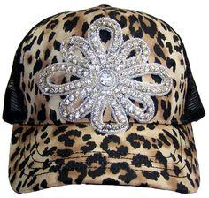 e9d2608cacf Items similar to Leopard Trucker Hat