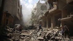 > En esas condiciones está #Damasco y casi todo el resto de #Siria gracias a las guerras por intereses.   [Isaías 17]