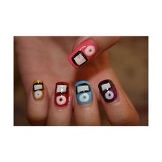 I pod nails! Concert Nails, Best Drugstore Products, Beauty Products, Crazy Nails, Hair Tattoos, Kittens And Puppies, Great Nails, Elegant Nails, Girly Things