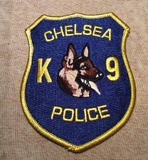 Chelsea Massachusetts K-9 Police Patch