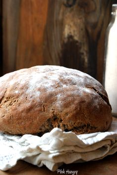 chestnut flour bread from Pink Hungry