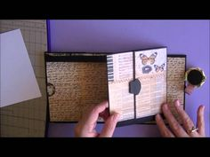 Mini Insert Tutorial (Previous Insert I had Made for Donna) very well done video.  will want to try this one