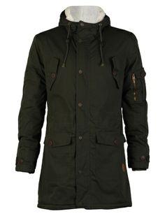 Gecko Parka Jacket - Mens Clothing – Tokyo Laundry