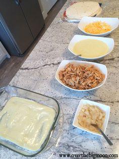 Honey Lime Chicken Enchiladas: I love citrusy chicken dishes, my kids love enchiladas. Perfect!