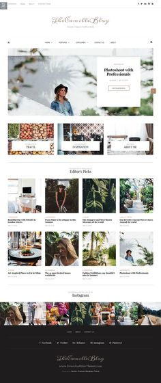 Camille is a very stylish, elegant and powerful multipurpose #WordPress blog…