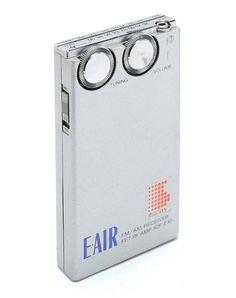 Sony ICF-E10 E-AIR FM/AM Receiver FET RF Amp (1981)