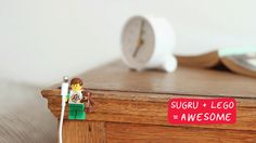 Try Sugru and get 10% off! Discover Sugru, the world's first mouldable glue! Fixing things around the home has never been that easy, so grab a pack now and start planning on your next project (click for coupon code). How to organise your cables with Sugru + LEGO!