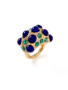 Keneth Jay Lane cocktail ring - colour inspiration