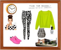 """""""What to wear to school. Part 5"""" by horsemania ❤ liked on Polyvore"""
