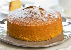 Flourless orange cake - gluten free