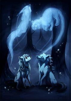 Anthropomorphic, Animals, Anthro, Furry, Furries, Wolf, Fox, Spirits, Beautiful, Art