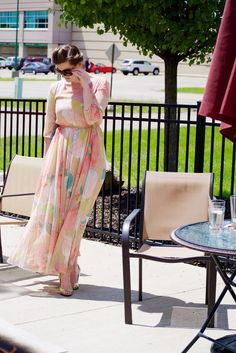 Spring Wedding Outfit: What to Wear to a Wedding | Modest Style  with Nichole Criss on She's Intentional: the Dainty Jewell's Blog