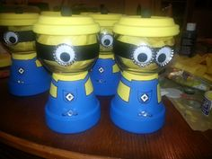 Minion gumball machines...raffled these to the parents. Cute and easy to make.
