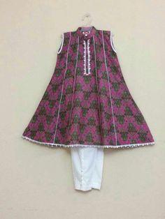 Baby Girl Dress Design, Girls Frock Design, Fancy Dress Design, Kids Frocks Design, Baby Frocks Designs, Girls Dresses Sewing, Little Girl Dresses, Pakistani Kids Dresses, Tandoori Masala