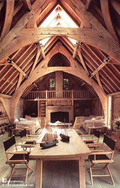 Nice wood construction
