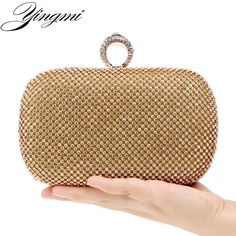 Cheap women clutch, Buy Quality evening bags crystal directly from China evening bags Suppliers: YINGMI Rhinestones women clutch bags diamonds finger ring ladies evening bags crystal wedding bridal handbags purse bags holder women bags fashion, women bags fashion 2018, women bags handbags, women baggy pants, women bag for work, women bags, women | bag and shoes, women bags and accessories #bags #shoulderbag #leatherbag #casualbag #trends #handbag