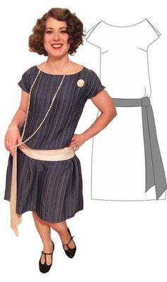 7fd3e2d672 20s Flapperdress