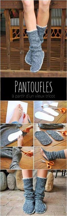 On profite de la journée mondiale du bricolage pour réaliser des créations à partir de vieux vêtements. À vos ciseaux Mesdemoiselles! -xoxo