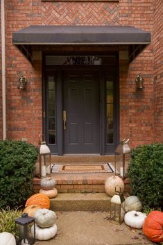 Our Front Door Makeover + Outdoor Hardware Guides