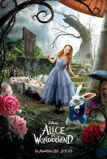 2010  Alice in wonderland Alicia en el país de las maravillas alan rickman