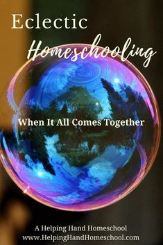 Have you found that no one method of homeschooling works well for you? Eclectic homeschooling might just be the answer! #homeschool #homeschooling #homeschoolmom #eclectic via @helpinghandhomeschool