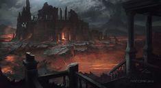 Forgotten ruins by Matchack.deviantart.com on @deviantART
