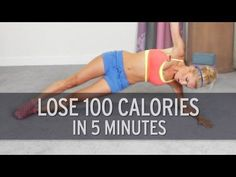 Lose 100 Calories In Just 5 Minutes!Lose Weight at Home. Lose 100 Calories In Just 5 Minutes!Lose Weight at Home. Lose 100 Calories In Jus. Lose Weight At Home, Yoga For Weight Loss, Pilates, Burn 100 Calories, Lose 5 Pounds, 20 Pounds, Fat Burning Workout, Workout Videos, Exercise