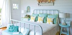 Pretty Master Bedroom...Love The Colors....